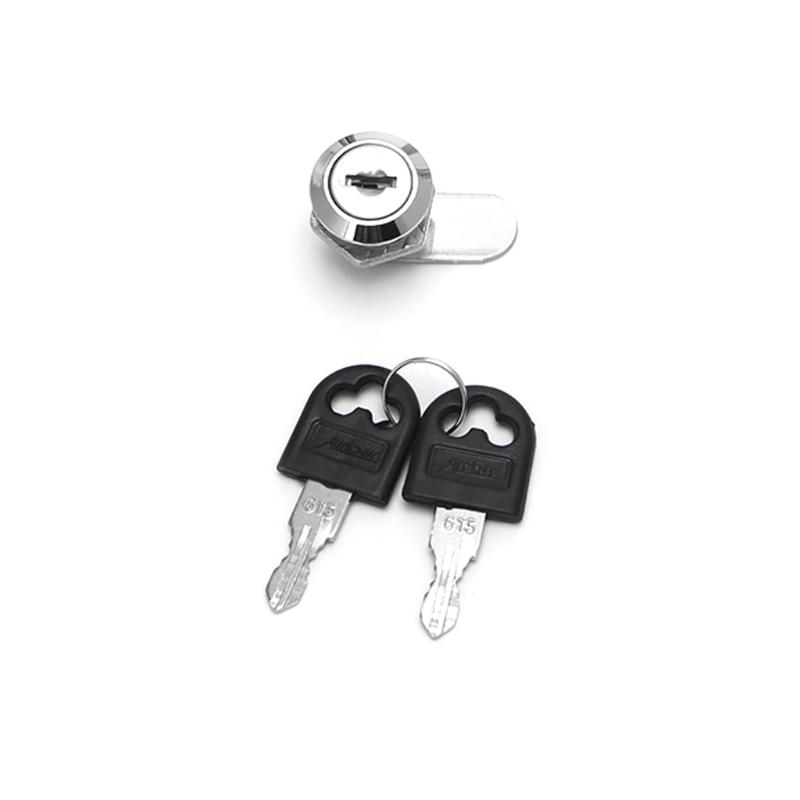 10 30mm Cam Lock Filing Cabinet Post Mailbox Drawer Cupboard Locker 2 Key in Locksmith Supplies from Tools