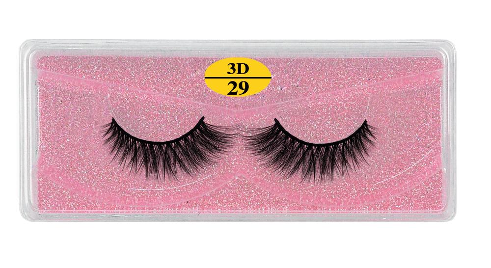 H5860d3bcd7de4712b482cba8664f8d3b3 - MB Eyelashes Wholesale 40/50/100/200pcs 6D Mink Lashes Natural False Eyelashes Long Set faux cils Bulk Makeup wholesale lashes
