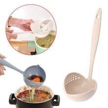2 в 1 горячий горшок посуда густой суп ложка с фильтром скиммер кухонная посуда длинная ручка дуршлаг