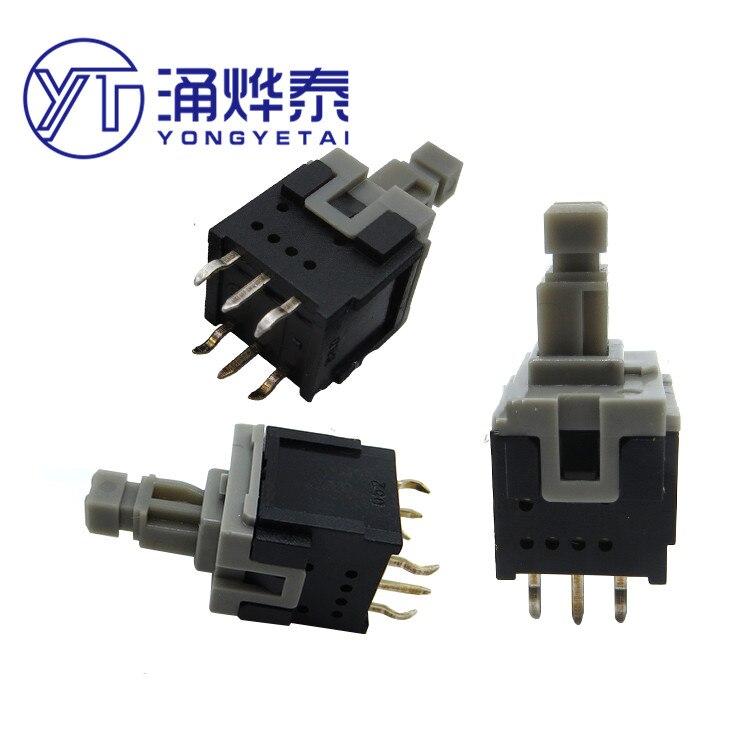 botão de bloqueio esb30b333 interruptor de botão 6pin