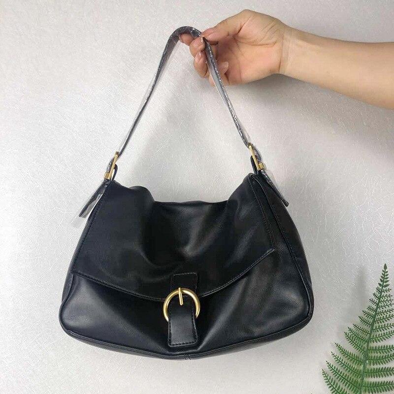 Women's bag new 2020 trend summer black bag women's  high quality PU leather crossbody big bag for women bags female office