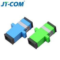 SC Fiber Optic Connector Optical Adapter SC UPC SM Fiber Flange Singlemode Simplex SC-SC APC Fiber Optic Coupler