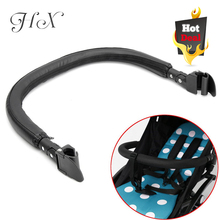 Stroller Accessories Bumper Bar for Bugaboo Bee Baby Trolley Armrests Handlebar With Pu Leather Oxford Cover Pram Pushchair