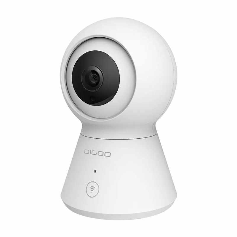 DIGOO DG-K2 1080P PTZ Mini IP Camera Night Vision Two Way Audio Support for Smart Life Tuya APP Alexa Google Smart Voice Control
