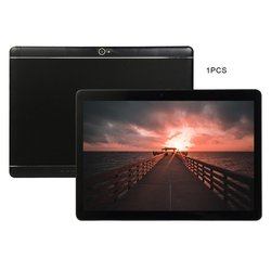 KT107 Plastic Tablet 10.1 Inch HD Large Screen Android 8.10 Version Fashion Portable Tablet 1G+16G Black Tablet