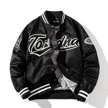 Hip Hop Baseball Jacket Men Women Embroidery Jacket Letter Streetwear Jacket Fashion Vintage Windbreaker Couples Spring Autumn