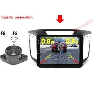 Image 4 - Araba dikiz kamera gece görüş LED ışık yüksek çözünürlüklü dikiz araç kamerası ekle geri Radar sensör dedektörü kamera