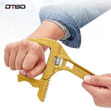 DTBD Multifunktionsschlüssel Universal Spanner Große Öffnung Einstellbar Spanner Reparatur Werkzeug für Wasser Rohr Schraube Bad