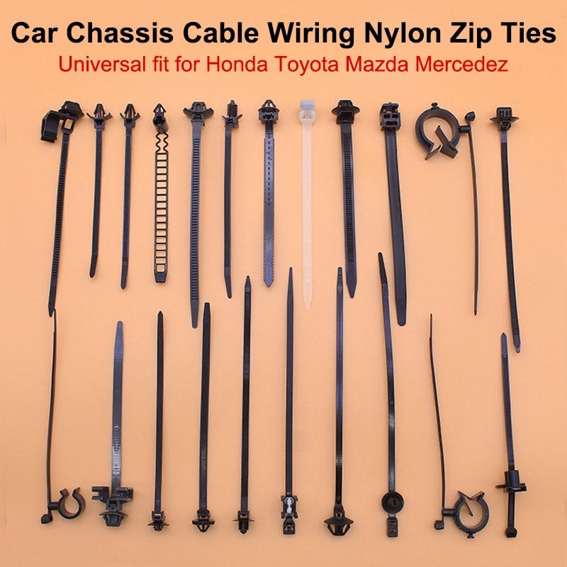 Big Sale #a206dc - 10x Self-locking Cable Tie For Toyota Honda Mazda Car  Chassis Wire Harness Retainer Clip Nylon Zip Tie Push Mount Auto Fasteners  | Cicig.coCicig