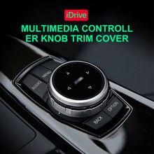 Idrive botão multimídia do carro botão capa substituição botão de mudança de engrenagem para bmw série 1/2/3/5/x1 carro série multi media botão guarnição