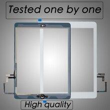 10 יח\חבילה על ידי DHL עבור iPad אוויר 1 מסך מגע Digitizer חיצוני זכוכית לוח Repait חלקי A1474 A1475 A1476