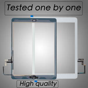 Image 1 - 10pcs/lot By DHL For iPad Air 1 Touch Screen Digitizer  Outer Glass Panel Repait Parts A1474 A1475 A1476