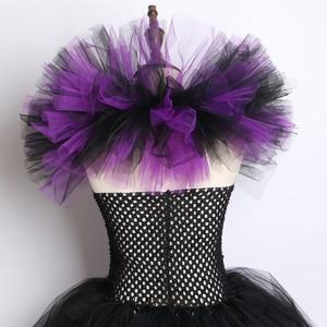 Image 5 - Evil Queen Tutuชุดแม่มดMaleficentคอสเพลย์ชุด + Devil HornและปีกSleeping Beauty Dress Upสำหรับสาวปาร์ตี้ฮาโลวีน