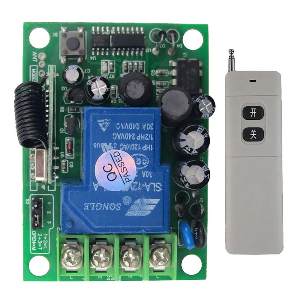Беспроводной пульт дистанционного управления с приемником для светильник щения, 3000 м, 9 В постоянного тока