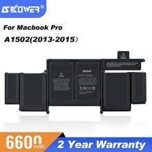 SKOWER Laptop Battery For Apple Macbook Pro 13 15 Inch A1278 A1286 A1398 A1502 Notebook A1322 A1321 A1494 A1417 A1493 Batteries