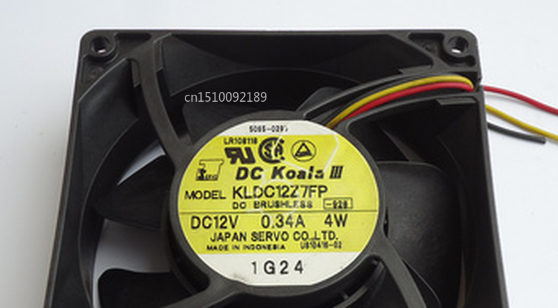 Free Shipping FOR SERVO KLDC12Z7FP 12V 0.34A 4W 9CM 9032 3lines Cooling Fan