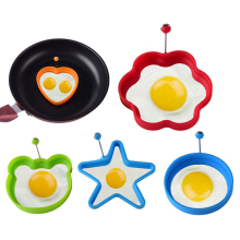 New Silicone Fried Egg Pancake Ring Omelette Fried Egg Round Shaper Eggs Mould for Cooking Breakfast Frying Pan Oven Kitchen round shaper eggs mould for cooking breakfast frying pan oven kitchen new silicone fried egg pancake ring omelette fried egg