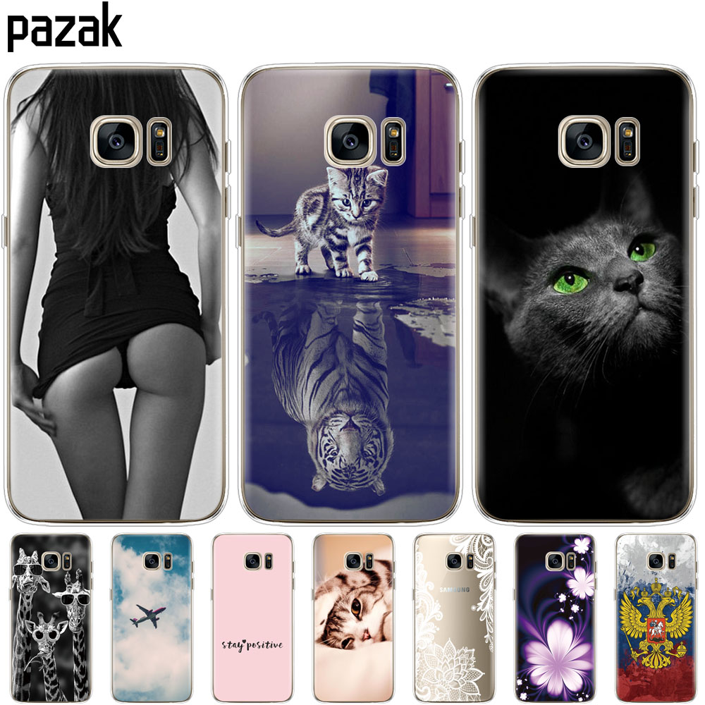 Silicone phone Case For Samsung Galaxy S7 Cases Cover For Samsung S7 edge G930F G930FD G930W8 Phone shell cases pop image