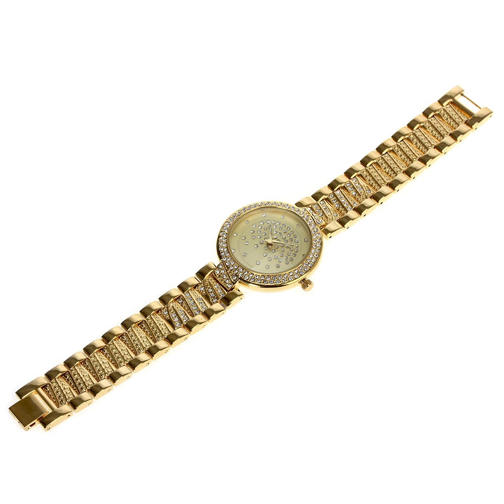 Image 4 - Crystal Nice Watch for women, White and Gold colors, 20cm length Fast shipping Watches Best Gift for mothers birthdayWomens Watches   -
