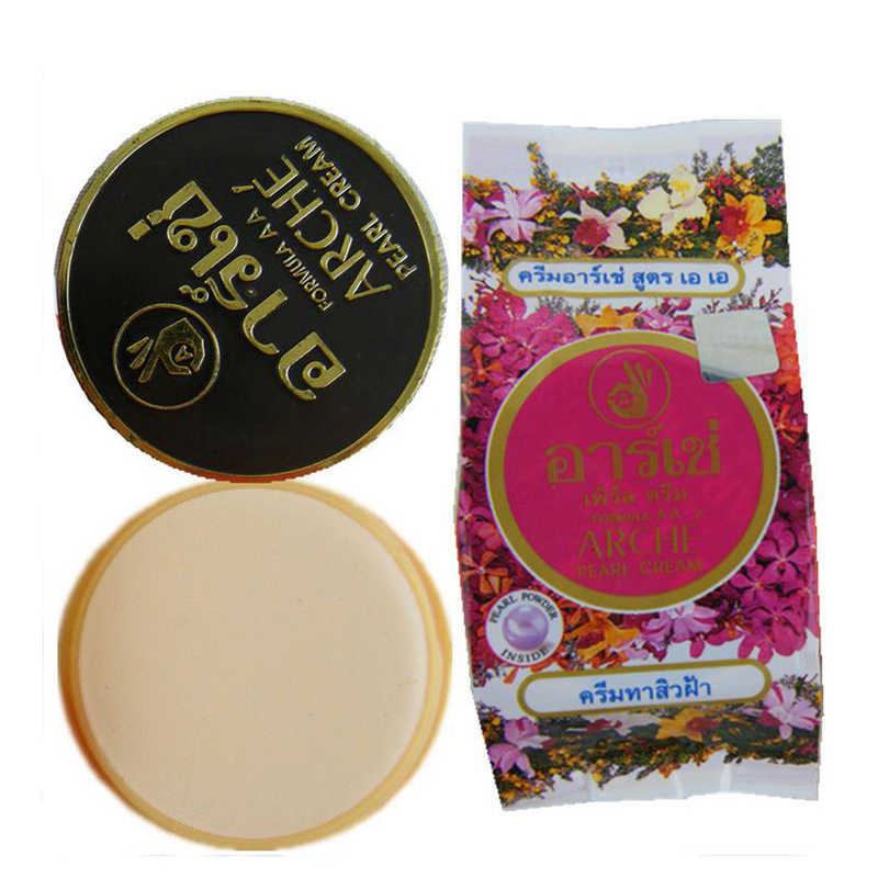 Thailand Asli Arche Arche Pearl Cream Zhuang Mutiara Whitening Krim Kecantikan Pencerah Kulit Jerawat 1 Pcs