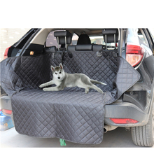 Lanke Dog Car Seat Cover,Waterproof Anti-dirty Auto Trunk Seat Mat,Pet Carriers Protector Hammock Cushion With Safety Belt car rear seat pet dog seat cushion waterproof anti dirty anti catch car protection pet mat