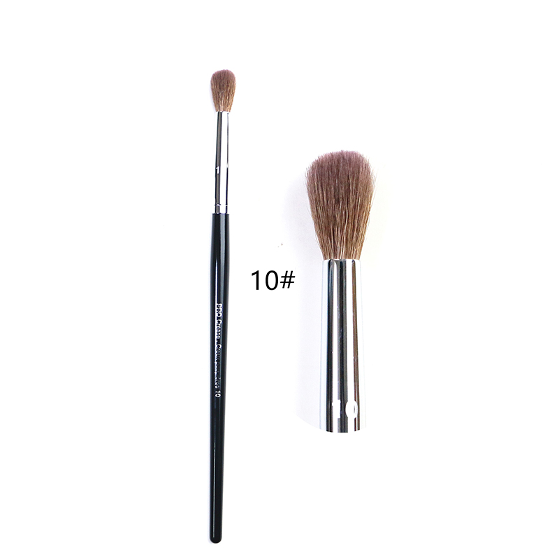 10# Makeup Brush Professional Crease Brush Senior Wool Eye Shadow Brush Repair Brush High-end S Series Beauty Tool Crease Brush
