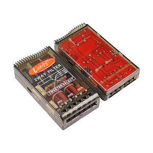 Image 2 - GHXAMP 80W 180W רכב מוצלב 2 דרך טרבל בס רמקול HIFI מסנן 2.8KHZ גבוהה סוף 2PCS