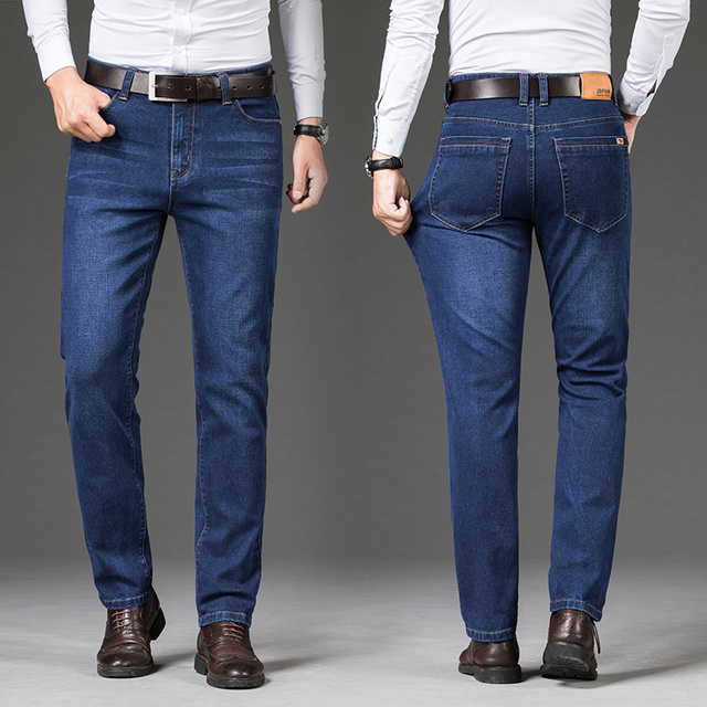2020 New Cotton Jeans Men High Quality   2