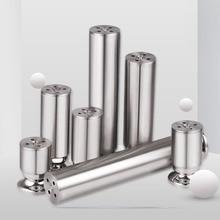 Stainless Steel Cabinet Feet Adjustable Support TV Coffee  Metal Table Legs