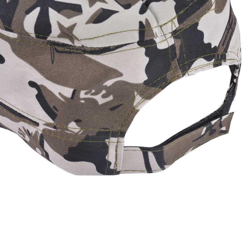 ผู้ชายคลาสสิกหมวกทหารชายหญิงหมวกเบสบอลหมวกปรับกองทัพCamouflageหมวกกีฬากลางแจ้งสไตล์