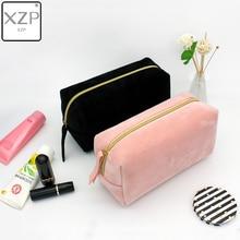 Bolso multifunción de viaje para cosméticos XZP, bolsos de maquillaje para mujeres, organizador de artículos de tocador, organizador de Color sólido para mujer, estuche de maquillaje, neceseres