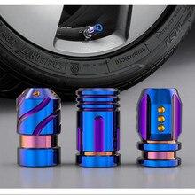 2 шт./компл. Универсальный Красочный автомобиль колпачки металлическая пуля руль шапки герметичный нержавеющие колпаки ступиц из карбида кремния для автомобиля внешние Запчасти