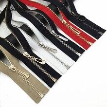 60 см автоматический металлический замок застежка-молния с открытым концом на молнии, декорированные для шитье сумок куртка DIY пальто швейные Материал P109