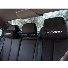 Автомобильная подушка для поддержки шеи для Honda ACCORD Pu, искусственная кожа, Автомобильная подушка