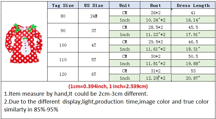 H58646f8fa84849a5b64438c75df26730n 2-6T Santa Claus Christmas Dress Kids Party New Year Costume Winter Snowman Baby Girl Clothes Christmas Tree Children Clothing