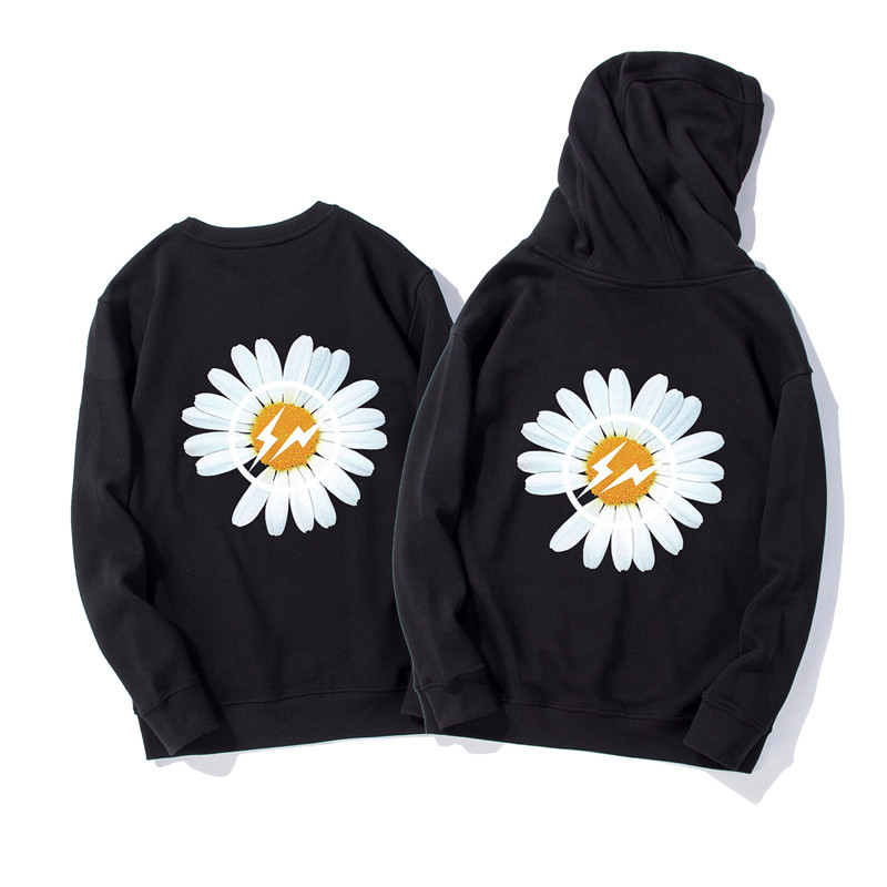 Bigbang Gdragon Hoodies Peaceminusone Hoodie GD Peaceminusone Sweatshirts Daisy Logo Print Pullovers Street Wear