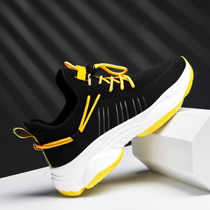 Image 3 - 2019 New Mesh Men Casual Shoes Lac up Men Shoes Comfortable Breathable Lightweight Walking Sneakers Tenis Feminino Zapatos