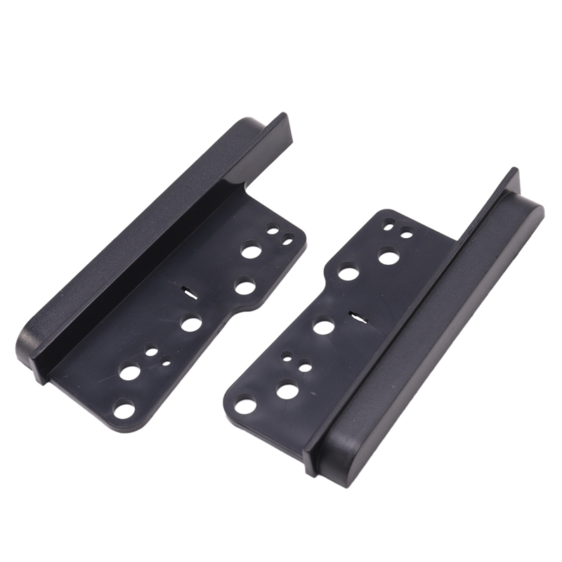 Fit for Toyota 2 Double Din Fascia Facia Dash Kit Car Stereo Side Trims Brackets-2