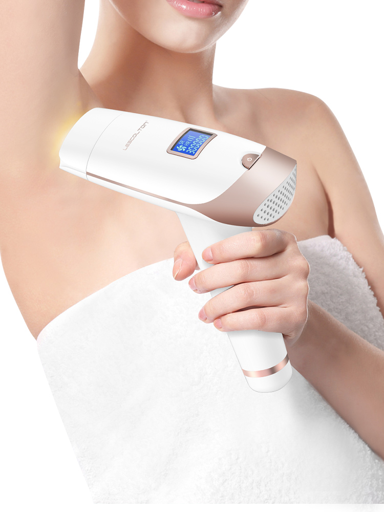 Bikini Trimmer Ipl Epilator Hair-Removal Lcd-Display-Machine Laser Permanent T009i Lescolton