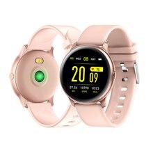 KW19 Women Smart watch Fitness tracker Heart rate Blood oxygen monitor Men Sport Waterproof Smartwatch For Android IOS phone