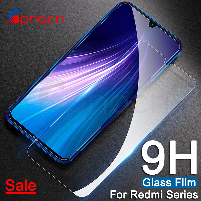 9H Protective Glass On The For Xiaomi Redmi 7 7A 6A 5A 6 Pro S2 K20 Redmi Note 8 7 6 Pro Tempered Screen Protector Glass Film