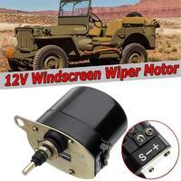 Motor universal do limpador de pára brisas 12 v para o trator rsm 868 7731000001 01287358 0390506510 de jeep willys|Motores de ventilador|Automóveis e motos -