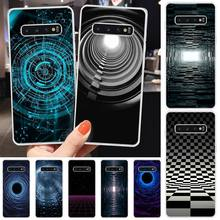 Space art Custom Photo Soft Phone Case For Samsung S6 S7 S7 edge S8 S8 Plus S9 S9 Plus S10 S10 plus S10 E(lite)