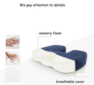 Image 2 - Chair Pillow Coccyx Cushion Tailbone Pain Pillow U shaped Memory Foam Pillow Sciatica pillow Anti Decubitus Chair Cushion