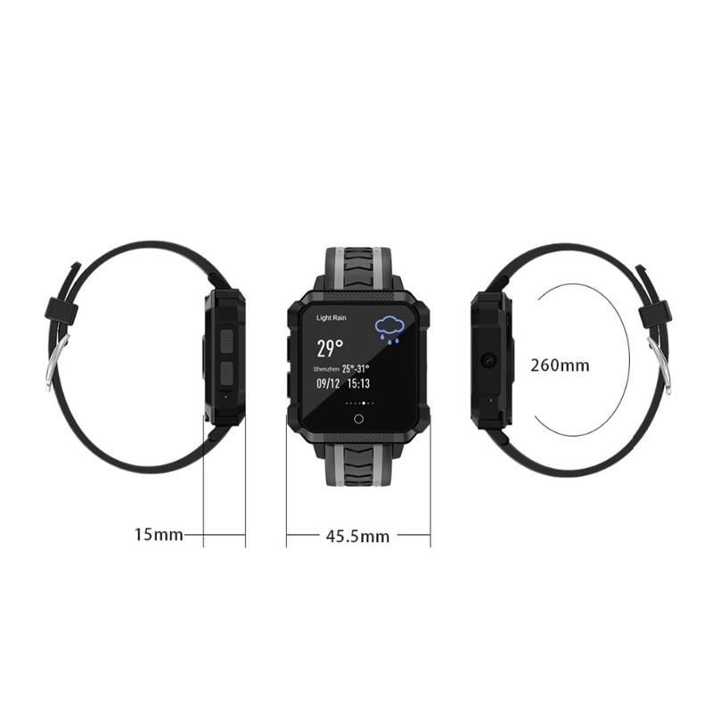 Смарт часы H7, Android 6,0 MTK 6737, 1 Гб + 8 Гб, 600 мАч, пульсометр, gps, wifi, пульсометр, пневматические Смарт часы, Bluetooth, Смарт часы - 4