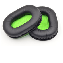 1 Pair Ear Pads Replacement For Razer BlackShark Stereo Gaming Headphones Earpads Sponge Soft Foam Cushion Earmuffs Yw#