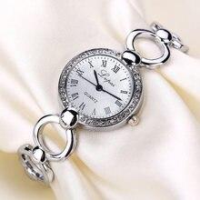 Lvpai модные бриллиантовые часы женские Стразы кварцевые браслеты