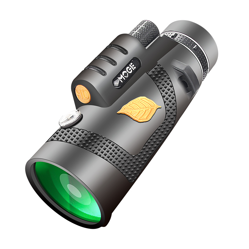 For Camping With Tourism Holder 12x50 Powerful Telescope Pocket Monocular Hiking Smart Telescope Phone Optional Suitable