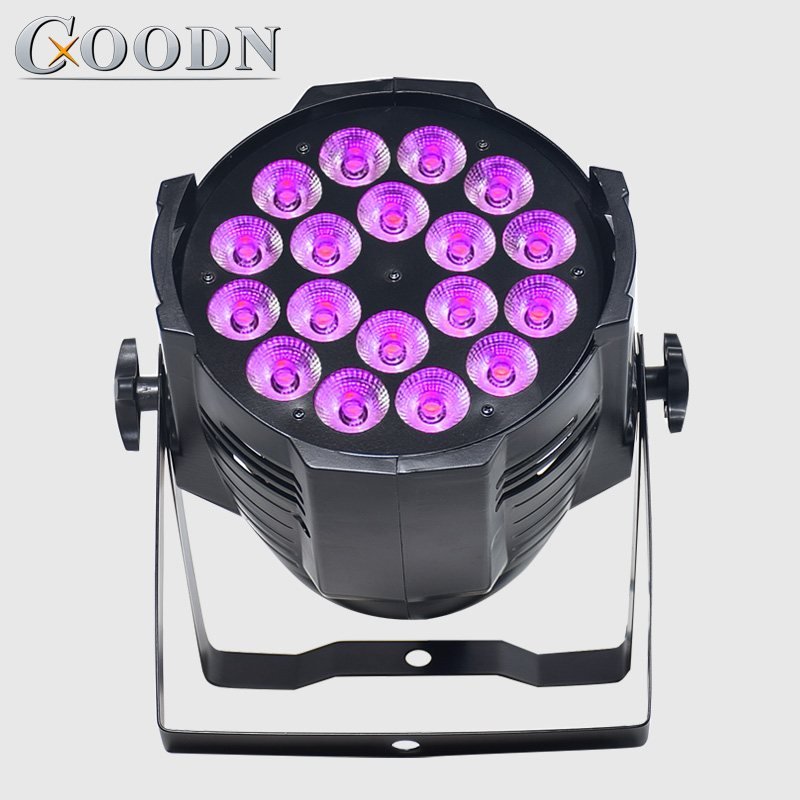 Dj Stage Light LED Par Can 18*12W RGBW 4in1 Color Perfect For Event,wedding,party And Bar Club