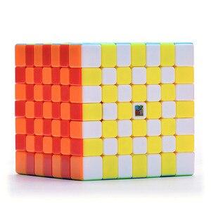 Image 5 - Moyu meilong 7x7x7 cubo mágico 7x7 quebra cabeça cubo mágico brinquedos educativos competição cubos velocidade cubo